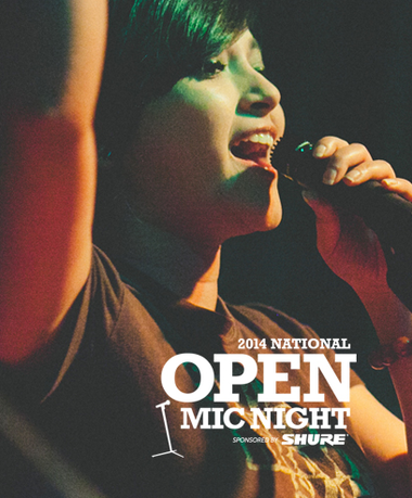 2014 National Open Mic Night