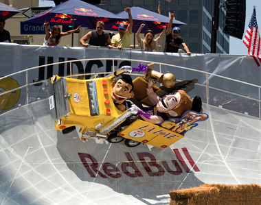 Red Bull Soapbox Race Seattle.
