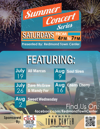 Redmond Town Center Summer Music Series