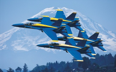 Seafair Air Show