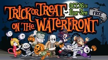 Trick-or-Treat on the Waterfront