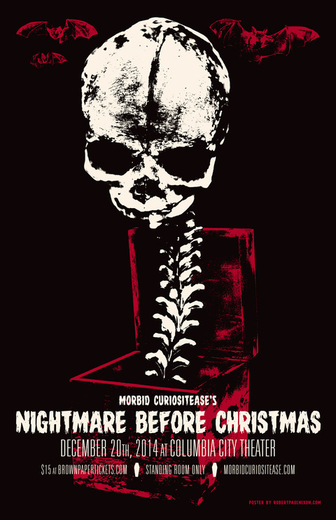 What's This - Morbid Curiositease: Nightmare Before Christmas Tribute Show