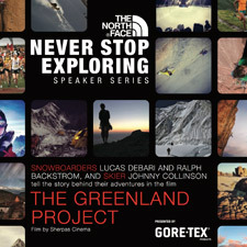 The North Face Speaker Series: The Greenland Project